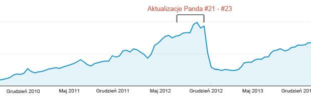 Aktualizacje algorytmu Google Panda
